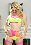 Natalia Starr Spreads in Fishnet